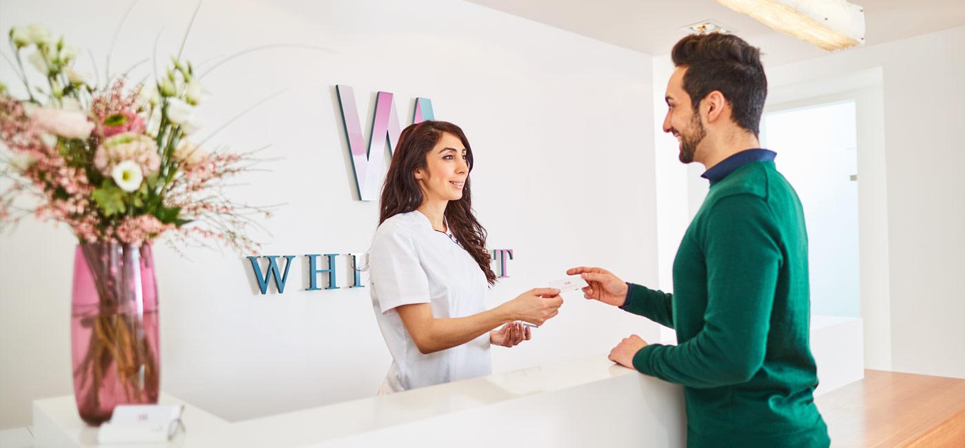 Zahnarztpraxis WHITEART Friedrichsdorf - Liebe Patientinnen und Patienten, 2